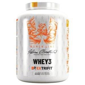 Extrifit Whey3 2000g jahodový šejk