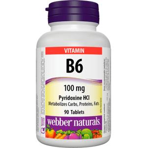Webber Naturals B6 100mg 90 tablet
