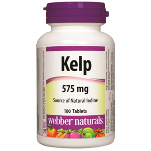 Webber Naturals Kelp 575mg 100 tablet