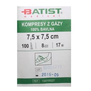 Gáza kompr.nester.7.5x7.5/100ks Batist
