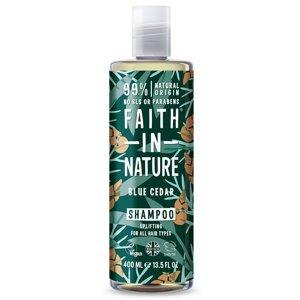 Faith in Nature Šampon Modrý cedr MAXI 400ml