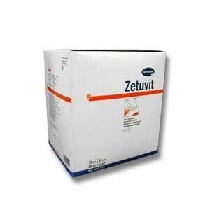 Kompres Zetuvit sterilní 10x10cm 25ks