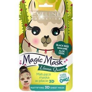 Eveline Cosmetics  Eveline Magic mask – Matující textilní maska lama
