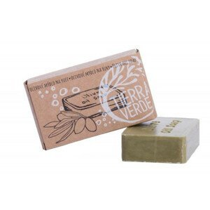 Mama Natura Olivové mýdlo na ruce - bez palmového oleje 100g