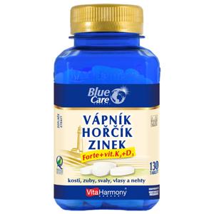 VitaHarmony  Vápník & hořčík & zinek Forte + vit. D3 + K2, 130 tablet