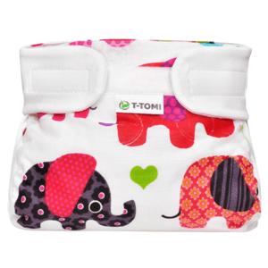 T-tomi Ortopedické abdukční kalhotky - suchý zip,pink elephants(3-6kg)