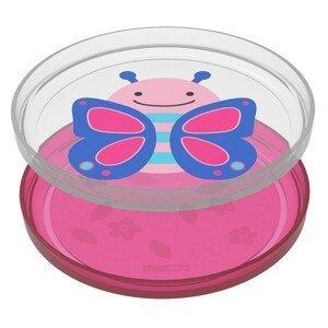 Skip Hop Zoo Talířky protiskluzové Motýl 6m+ 2ks