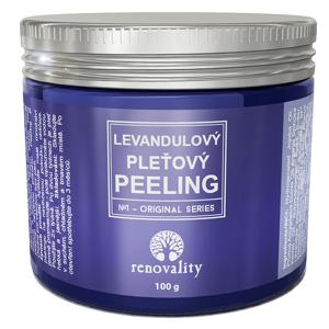 Renovality Levandulový pleťový peeling 100g