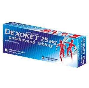 Dexoket 25mg potahové tablety 10ks
