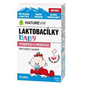 Swiss NatureVia Laktobacilky baby 10 sáčků
