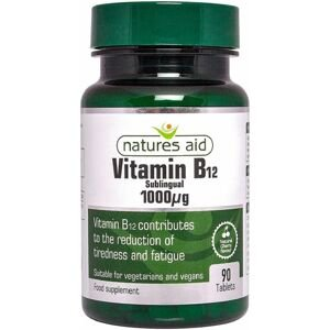 Natures aid  Vitamín B12 1000mcg 90 tablet