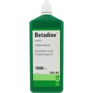 Betadine tekutina 1000ml (H) zelený