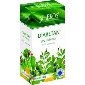 LEROS Diabetan perorální léčivý čaj 100g sypaný