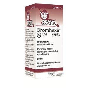 Bromhexin 8 KM kapky kapky 20ml 8mg/ml