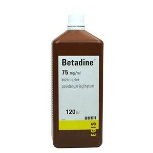 Betadine chirurgická tekutina 120ml