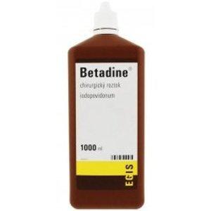 Betadine chirurgická tekutina 1000ml (H)