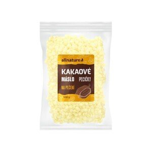 Allnature Kakaové máslo BIO 500g