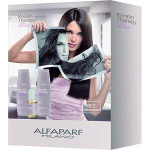 Alfaparf Milano Keratin Therapy udržující péče Lisse Design - set 3ks