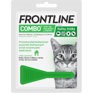 Frontline Combo Spot-on cat roztok 1x0,5ml