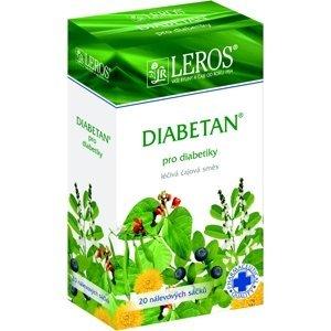 LEROS Diabetan perorální léčivý čaj 20x1g sáčky