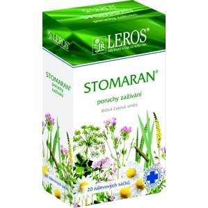 LEROS Stomaran perorální léčivý čaj 20x1.5g sáčky