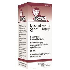 Bromhexin 8 KM kapky 50ml/8 mg/ml