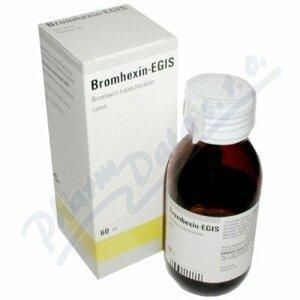 Bromhexin - Egis roztok 60ml/120mg