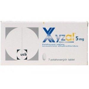 Xyzal perorální tablety film 7x5mg