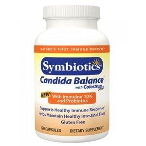 Symbiotics Colostrum CANDIDA s probiotiky cps.120