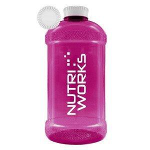 NutriWorks Barel na vodu růžový 2,2l
