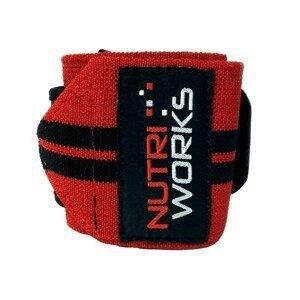NutriWorks Omotávky zápěstí červenočerné