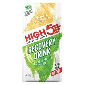High5 Recovery Drink banán - vanilka 60g