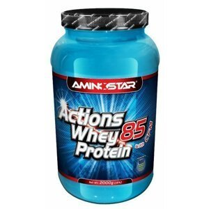 Aminostar Whey Protein Actions 85%, 1000g, Strawberry