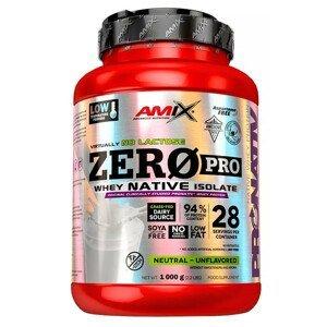 Amix ZeroPro Protein, Bílá čokoláda 1000g