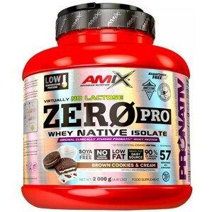 Amix ZeroPro Protein, Bílá čokoláda 2000g