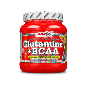 Amix L-Glutamine + BCAA - powder Forest Fruit 300g