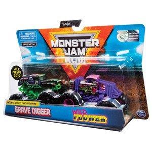 Spin master Monster jam sběratelská auta dvojbalení 1:64 ASST