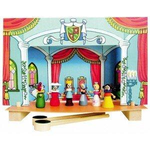 Detoa Divadlo Popelka magnetické dřevěné s figurkami