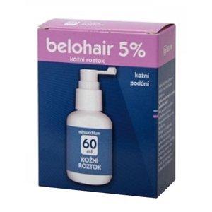 Belohair 5% dermální roztok 60ml