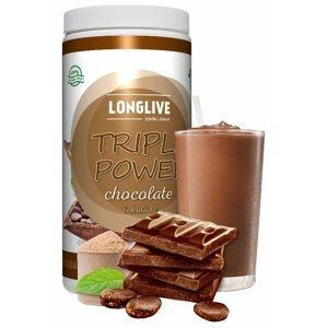 Longlive Protein Triple Power čokoláda 690g
