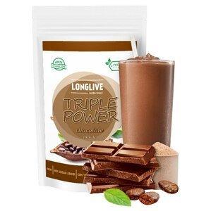 Longlive Protein Triple Power čokoláda 90g