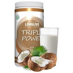 Longlive Protein Triple Power kokos 690g
