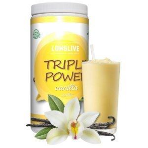 Longlive Protein Triple Power vanilka 690g