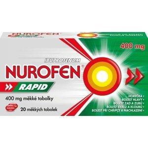 Nurofen Rapid 400mg 20 měkkých kapslí