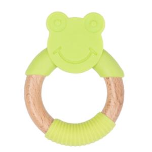 Bo Jungle Kousátko B-TEETHER ANIMAL WOOD Green Frog