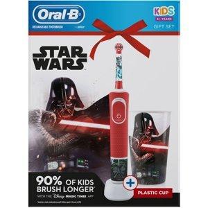 Oral-B Vitality D100 Star Wars Zubní kartáček+hrníček 1ks