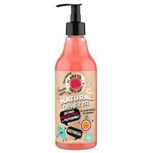"""Planeta Organica Přírodní osvěžující sprchový gel """"Refresh"""" Ovoce a máta 500ml"""