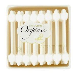 Simply Gentle Organické dětské vatové tyčinky 56ks