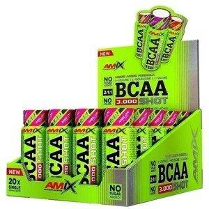 Amix BCAA 3000 SHOT Meloun 20x60ml