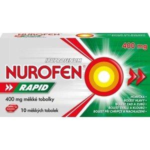 Nurofen Rapid 400mg 10 měkkých kapslí